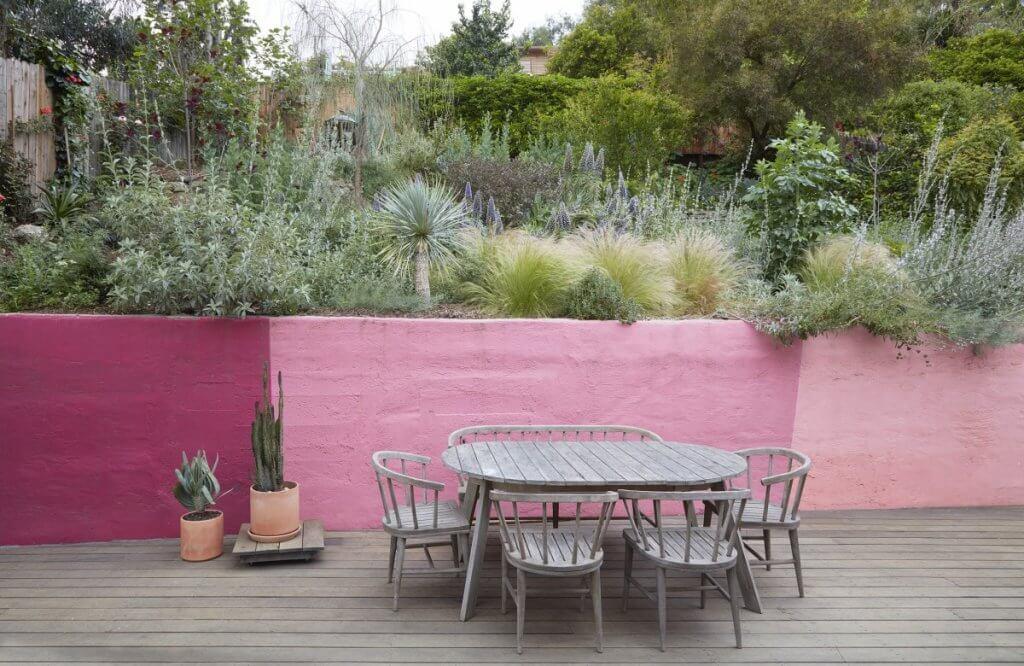Jardin silvestre plantas y diseño